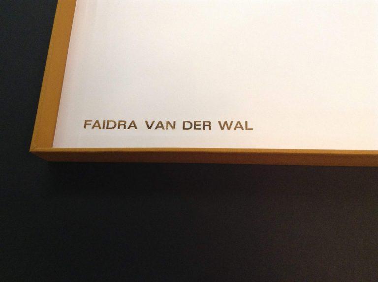 Faidra van der Wal